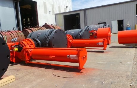 Large valves and equipment