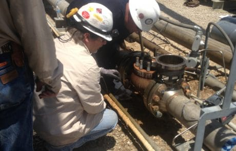 Valve repair for oil and gas company